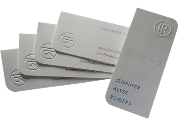 Make Your Business Card Unique With Embossing Effects